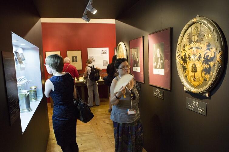 Wystawa historyczna Herby mieszczan gdańskich od XV do XVIII wieku  w Domu Uphagena, którą udostępniono dla zwiedzających w ramach IV Światowego Zjazdu Gdańszczan w 2014 roku