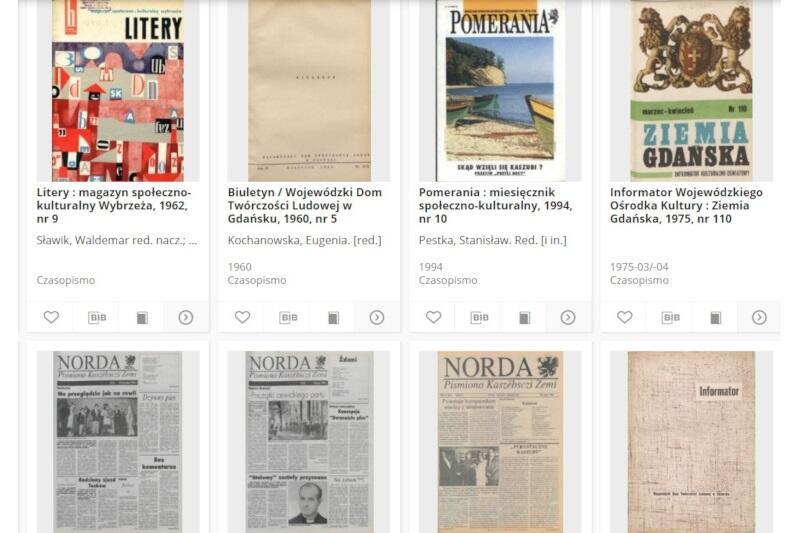 Zbiory Bałtyckiej Biblioteki Cyfrowej liczą ponad 64 tys. obiektów - zeskanowanych czasopism, książek i archiwaliów