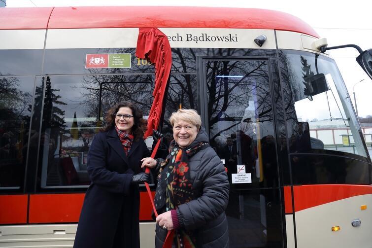 W styczniu br. jednemu z gdańskich tramwajów nadano imię Lecha Bądkowskiego. W uroczystości wzięła udział prezydent Gdańska Aleksandra Dulkiewicz i córka Bądkowskiego, Sławina Kosmulska