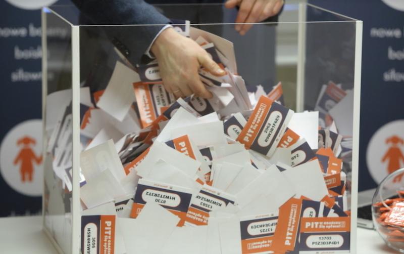 Coroczne losowanie nagród w loterii Pit w Gdańsku. Się opłaca  odbywa się na żywo i jest relacjonowane na naszym portalu