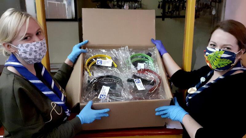 Gdańscy harcerze drukują przyłbice, które trafią do pracowników służb medycznych walczących z koronawirusem