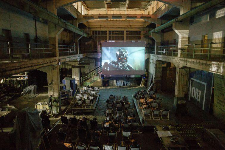 Pierwsza edycja Octopus Film Festival, 2018 r.: seans Obcego - ósmego pasażera Nostromo  po prostu nie mógł odbyć się gdzie indziej, niż w B90
