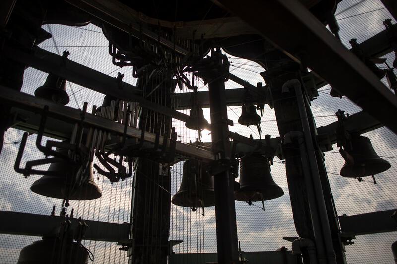 Gdańskie carillony na wieży Ratusza Głównego Miasta