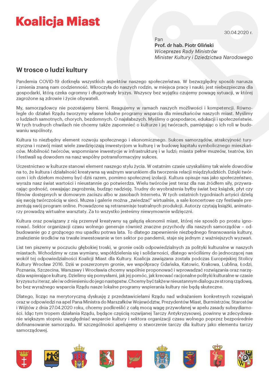 pismo_koalicja_miast_dla_kultury_30_04_2020_1__Strona_1