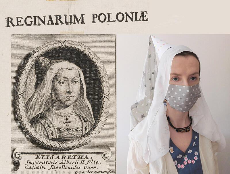 W ramach lokalnej wersji zabawy #BetweenArtandQuarantine, do której zachęca Muzeum Gdańska możesz zostać królową