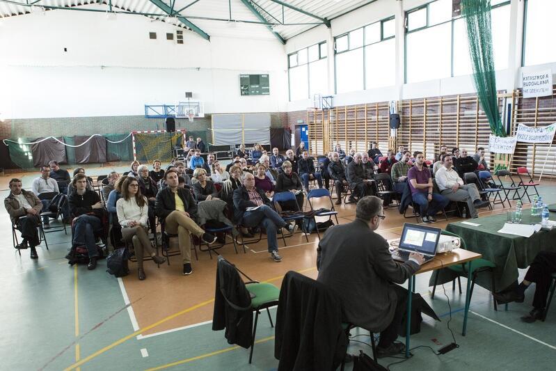 Konsultacje społeczne w sprawie Nowej Politechnicznej i Trasy Gdańsk Południe - Wrzeszcz w kwietniu 2016 roku w SP 85
