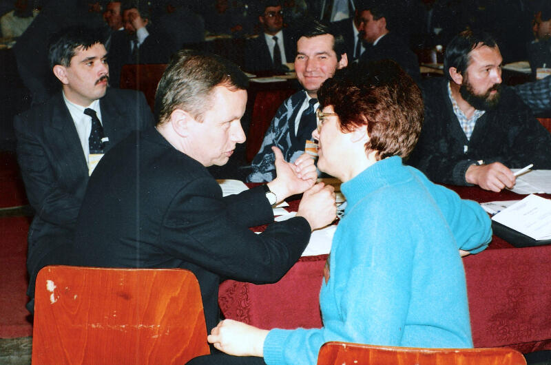 Rozmowa prezydentów dwóch miast. Jacek Starościak i prezydent Gdyni Franciszka Cegielska