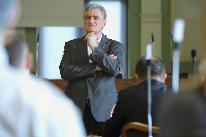 Bogdan Oleszek w latach 2001-2018 piastował stanowisko Przewodniczącego Rady Miasta Gdańska