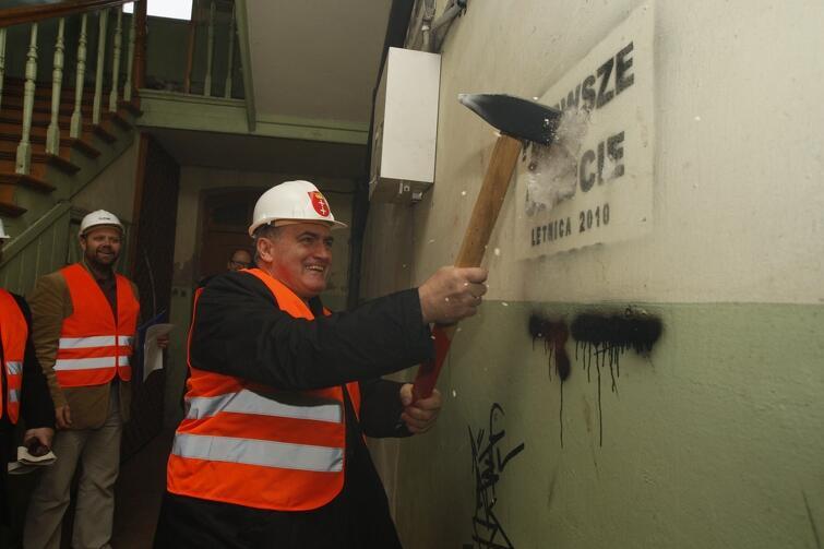 Tak, symbolicznie, w 2010 roku rozpoczęto prace remontowe w ramach programu rewitalizacji Letnicy