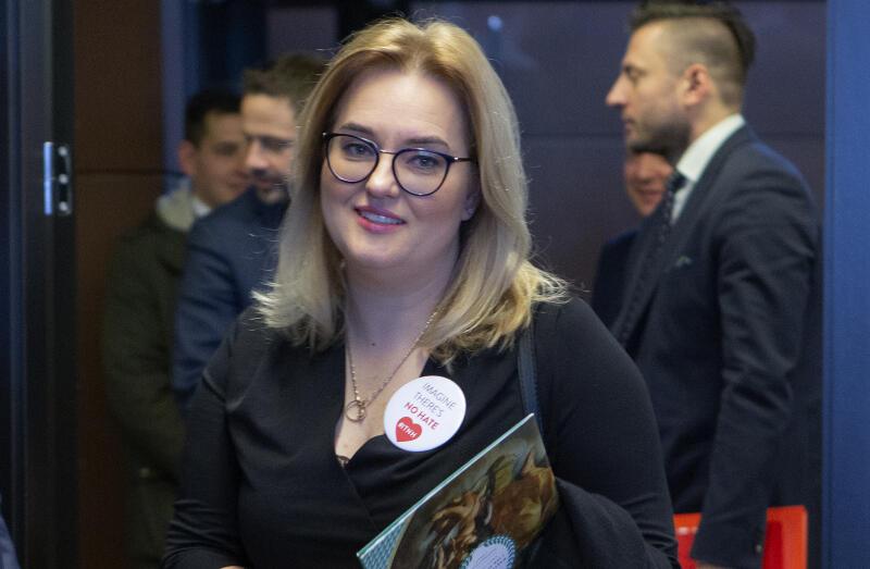 Magdalena Adamowicz, posłanka do Parlamentu Europejskiego