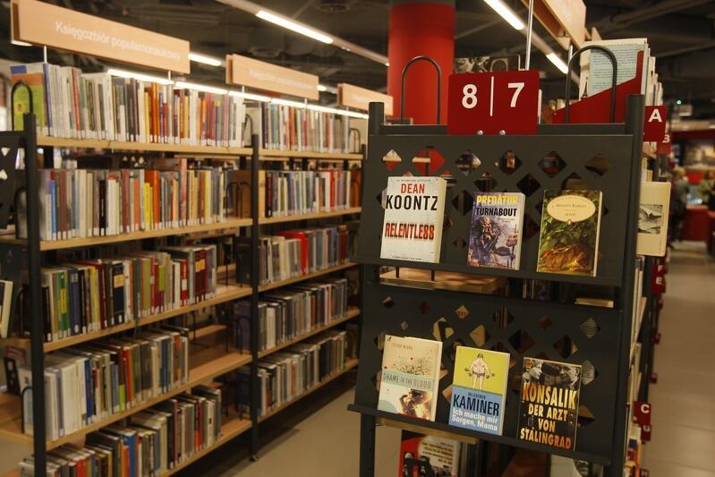 Biblioteka Manhattan (na zdj.)oraz Biblioteka Główna będą otwarte od już od wtorku, 12 maja