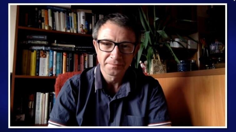 Dr Wojciech Glac podczas programu online na www.gdansk.pl opowiadał o stresie i higienie mózgu w czasie epidemii Covid-19