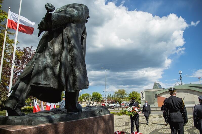Pomnik Józefa Piłsudskiego we Wrzeszczu został odsłonięty w 2006 r. i jest efektem obywatelskiej inicjatywy, wspartej przez Miasto Gdańsk