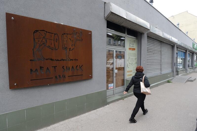 Meat Shack BBQ przy ul. Waryńskiego ruszy z ogródkiem gastronomicznym tak szybko, jak tylko będzie to możliwe