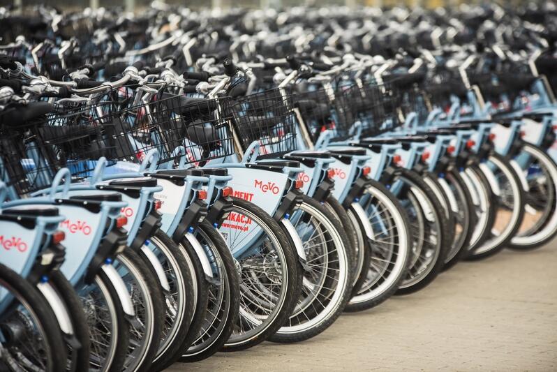 Po odstąpieniu od umowy z poprzednim operatorem w posiadaniu Obszaru Metropolitalnego Gdańsk-Gdynia-Sopot są rowery elektryczne