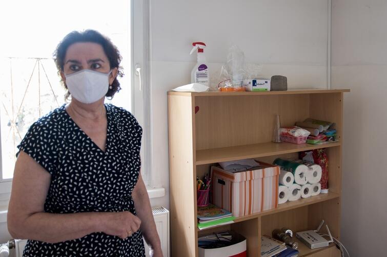 Lucyna Groch, dyrektor Przedszkola nr 2, musiała zadbać o zorganizowanie w placówce specjalnej izolatki dla dzieci, które w ciągu dnia źle się poczują