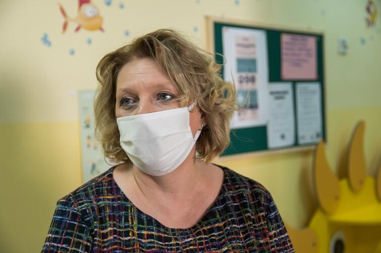Anna Wirska, dyrektor Przedszkola nr 22, nie kryje obaw przed sytuacją, w której do przedszkola zgłosi się więcej dzieci niż dopuszczalna obecnie maksymalna ich liczba