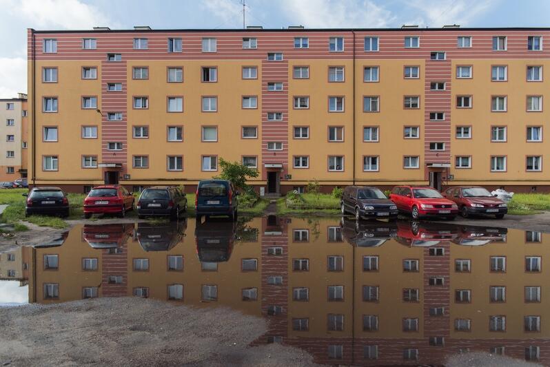 Ulica Zimna na Stogach. Tu deszcze dają się we znaki mieszkańcom