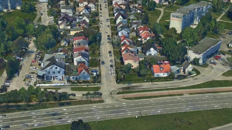 Skrzyżowanie ulic Słowackiego i Niedźwiednik