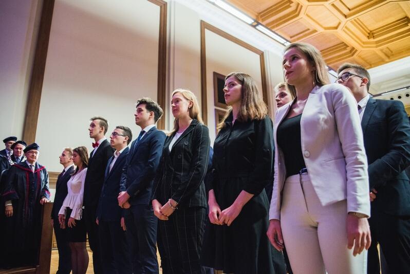 Uroczysta inauguracja roku akademickiego 2019/20. Pozostaje mieć nadzieję, że i w tym roku odbędzie się ona 1 października