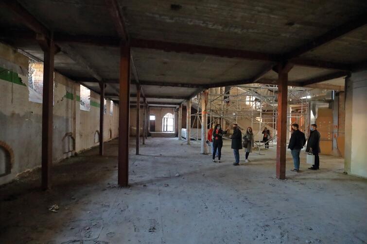Te przestronne wnętrza już za rok powinny być w trakcie ostatnich przygotowań na przyjęcie zwiedzających Muzeum Bursztynu