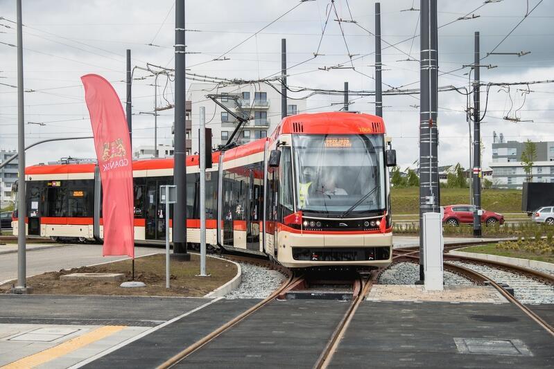 25 maja rozpoczęły się przejazdy techniczne tramwaju w al. Pawła Adamowicza