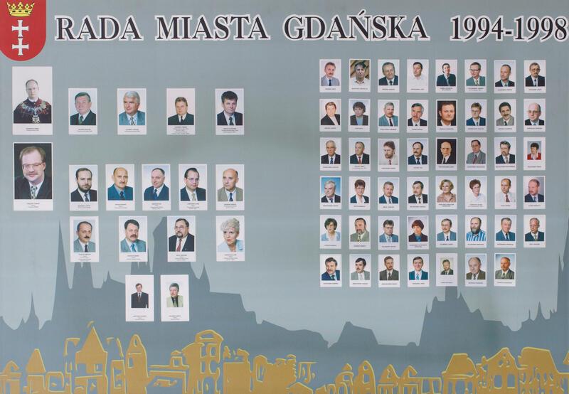 Radni Gdańska w latach 1994-1998. KLIKNIJ W ZDJĘCIE, ABY POWIĘKSZYĆ