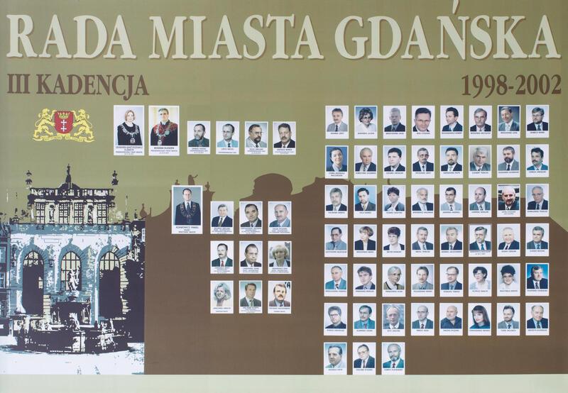 Radni Gdańska w latach 1998-2002. KLIKNIJ W ZDJĘCIE, ABY POWIĘKSZYĆ