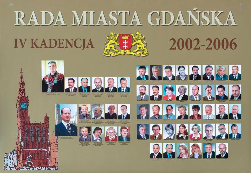 Radni Gdańska w latach 2002-2006. KLIKNIJ W ZDJĘCIE, ABY POWIĘKSZYĆ