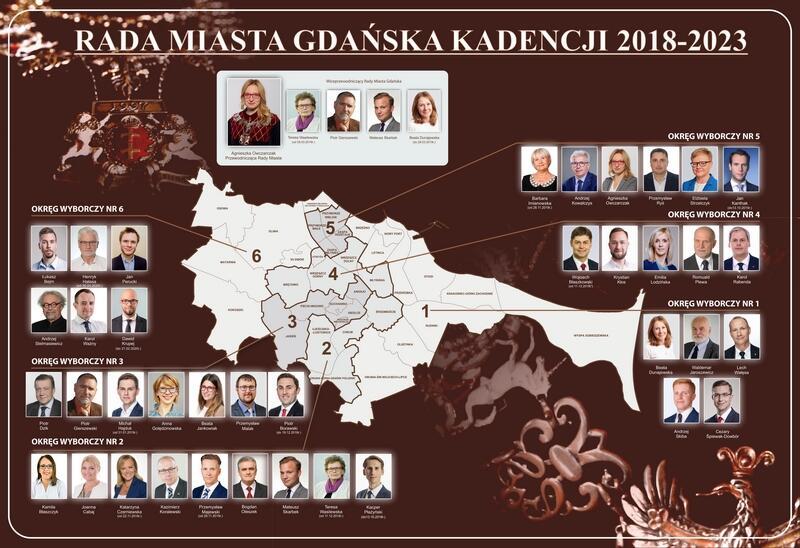 Radni Gdańska w latach 2018-2023. KLIKNIJ W ZDJĘCIE, ABY POWIĘKSZYĆ