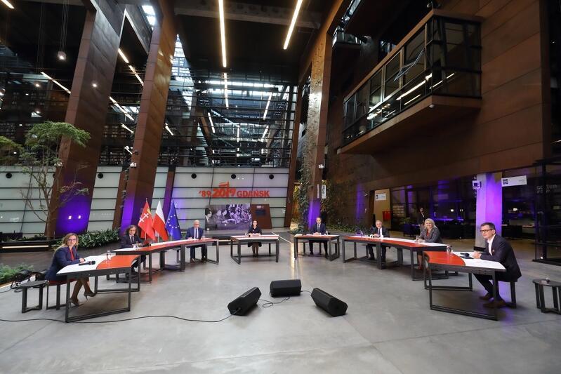 Debata 30 lat samorządności  w Europejskim Centrum Solidarności w Gdańsku