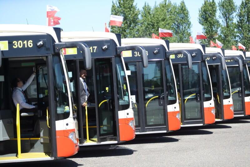Nowe autobusy dla Gdańska - ostatnie trzy z transzy 48 wyruszyły w trasę 29 maja 2020 r.