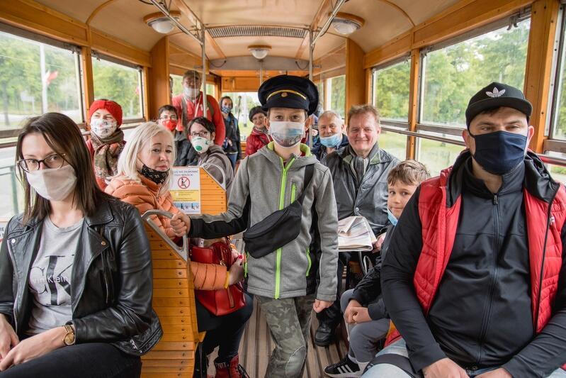 W okazji Święta Miasta można przejechać się, bezpłatnie, zabytkowym gdańskim tramwajem