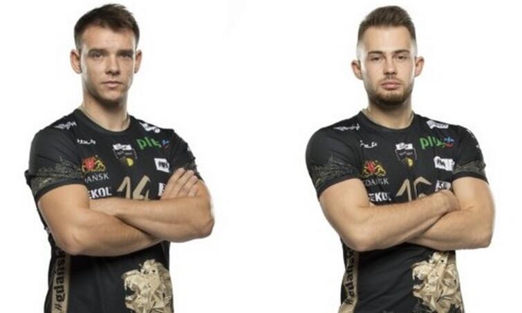 Od lewej: Maciej Olenderek i Fabian Majcherski