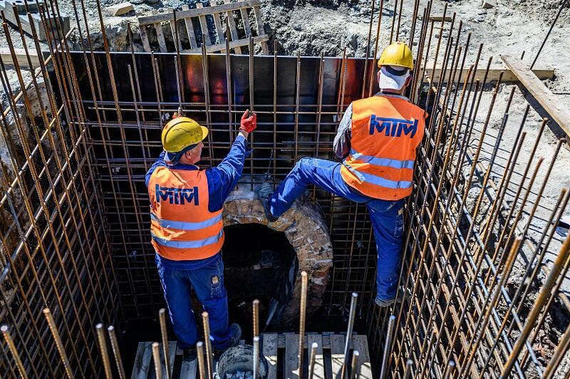 Inwestycja GIWK realizowana obecnie przy Podwalu Staromiejskim, w ramach budowy przejścia naziemnego