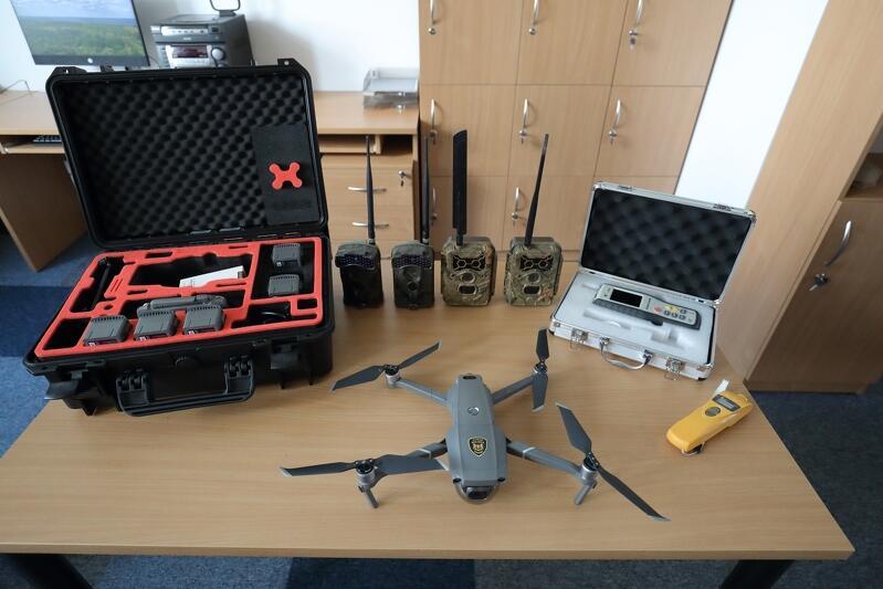 Eko Patrol Straży Miejskiej w Gdańsku dysponuje już częścią sprzętu, który ma ich wspomóc w pracy