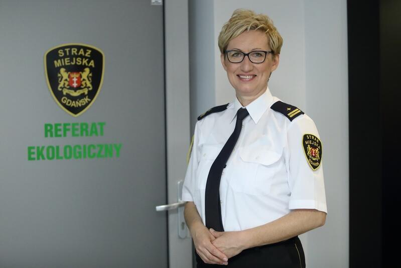 Agnieszka Grabowska, z-ca komendanta Straży Miejskiej w Gdańsku do spraw prewencji, której podlega Referat Ekologiczny
