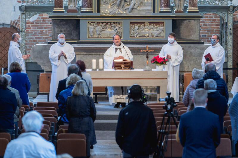 Msza transmitowana z Kościoła św. Jana 17 maja 2020 r.