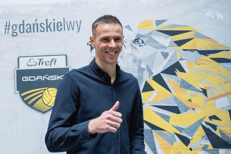 """Mariusz Wlazły: - Jestem spod znaku lwa, więc określenie """"gdańskie lwy"""" (tak mówi się o zespole Trefla Gdańsk - red.) jest mi bliskie"""