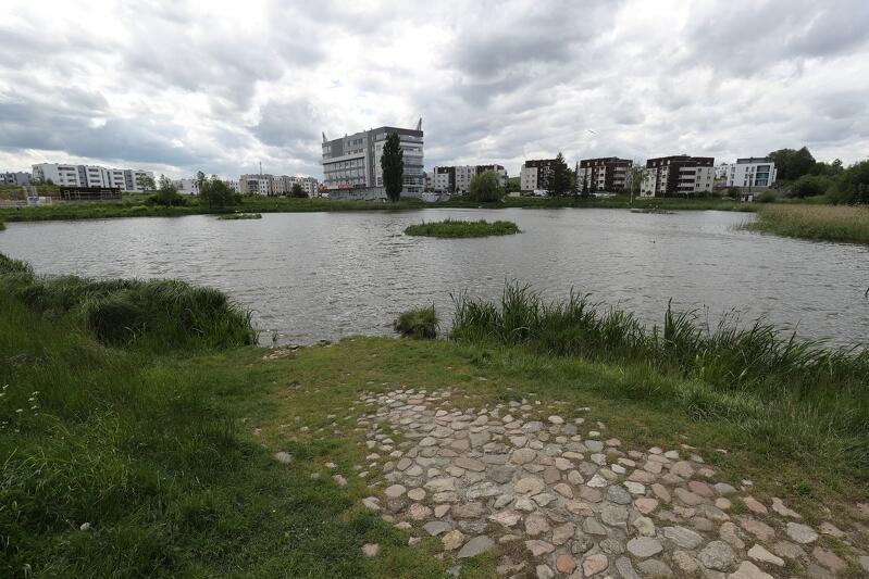 Zbiornik retencyjny Jabłoniowa w Gdańsku