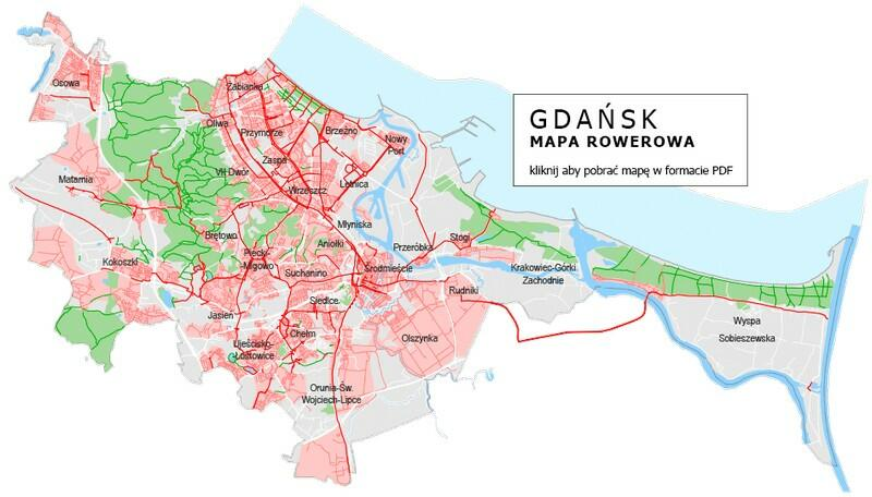 mapa rowerowa