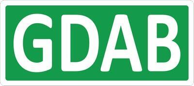 Naklejka na froncie parkometru (kolor i oznaczenie literowe w zależności od sektora)