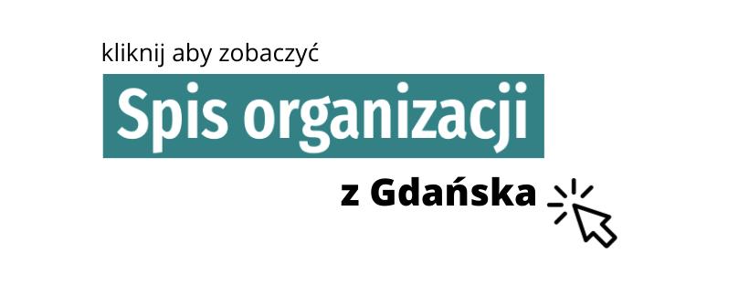 spis organizacji z Gdanska