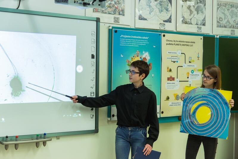 Gdańscy uczniowie podczas finału konkursu Planeta Odzysku