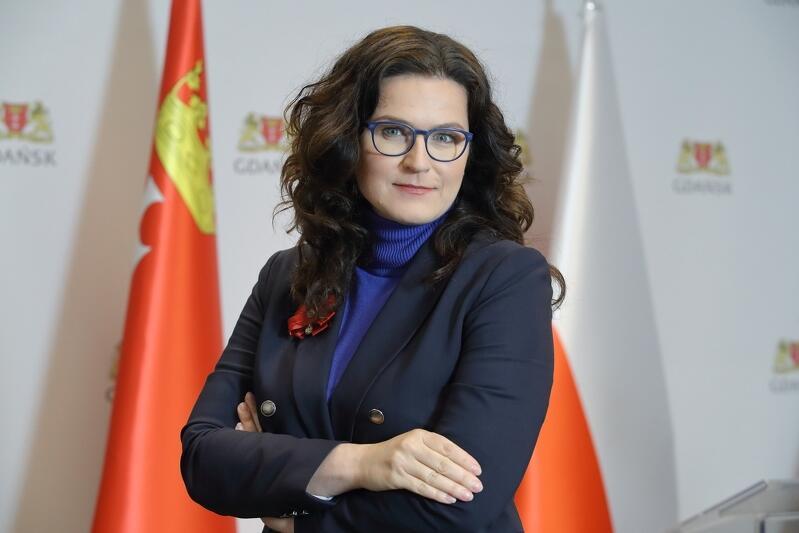 Prezydent Miasta Gdańska Aleksandra Dulkiewicz