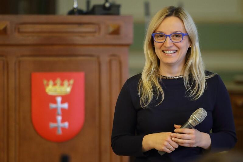 Przewodnicząca Rady Miasta Gdańska Agnieszka Owczarczak