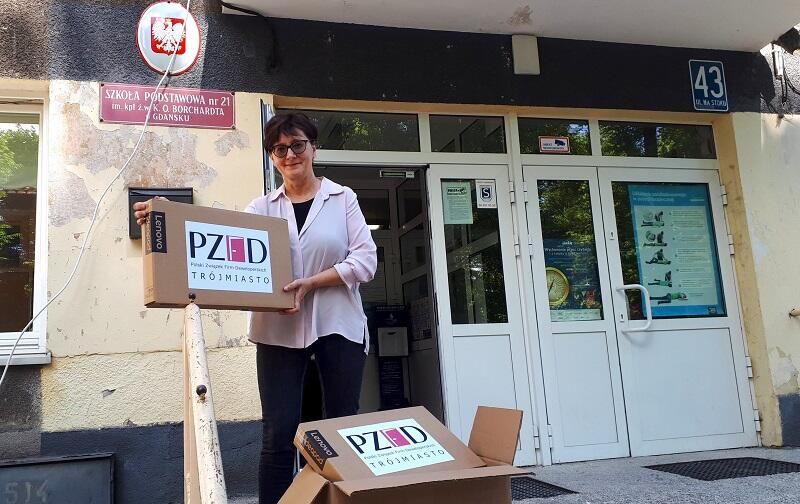 Jako Polski Związek Firm Deweloperskich Trójmiasto mamy świadomość, że w obecnej sytuacji wsparcia wymaga nie tylko system opieki zdrowotnej, ale też szkoły i ich uczniowie - mówi Magdalena Reńska, członek zarządu PZFD Trójmiasto