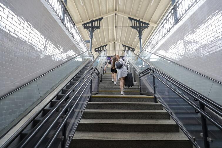 Gotowe są już, odnowione i zmodernizowane, perony dalekobieżne
