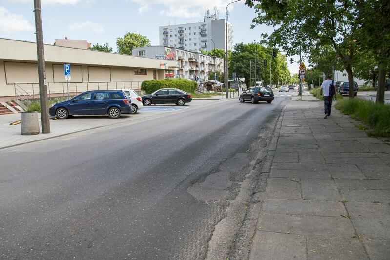 Fragment ul. Słowackiego na odcinku od ul. Reymonta do ul. Chrzanowskiego zmieni oblicze