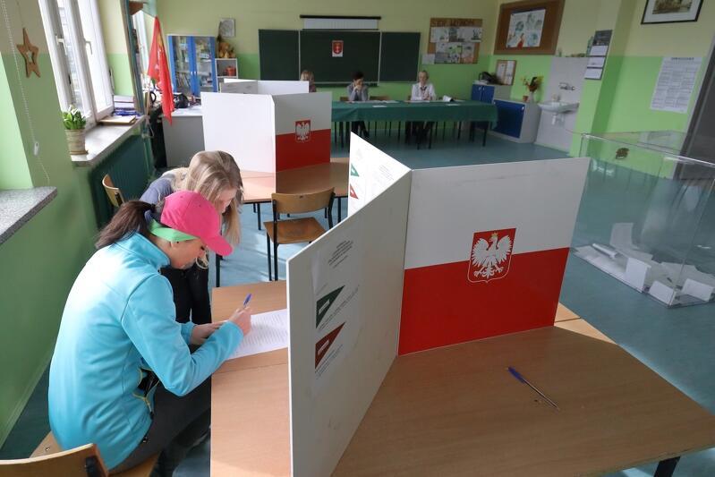 W Gdańsku ponad połowa osób korzysta z prawa wyborczego